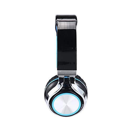 Kopfhörer Headset Mode Ingel Heavy Bass Klappkopfhörer mit Mikrofon für Smartphone MP3 MP4