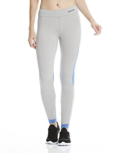 Bench-Paneled Leggings, Donna, PANELED Leggings, grigio, S