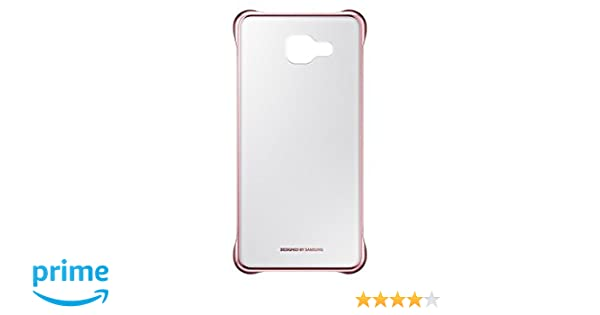 huge discount 94307 967d5 Samsung A5 (6) 2016 Clear Cover (Pink)