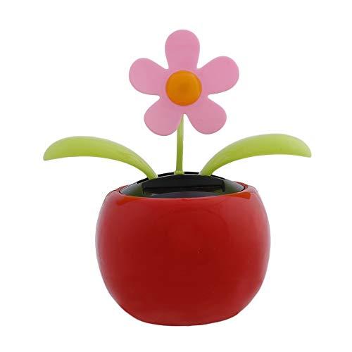 Newgrees Solar-Sonnenblume für Girosoles, Schaukelblätter, Tanz und Blüte, Auto