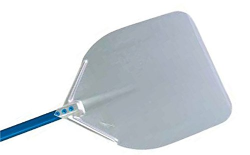 Professional 13-inch Rectangular Pizza Peel with 20 Handle by Gi.Metal (Professional Peel)