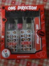 One Direction 1D Nailtastic Nail Gift Set Glitter Polish & Nail Stickers Superb