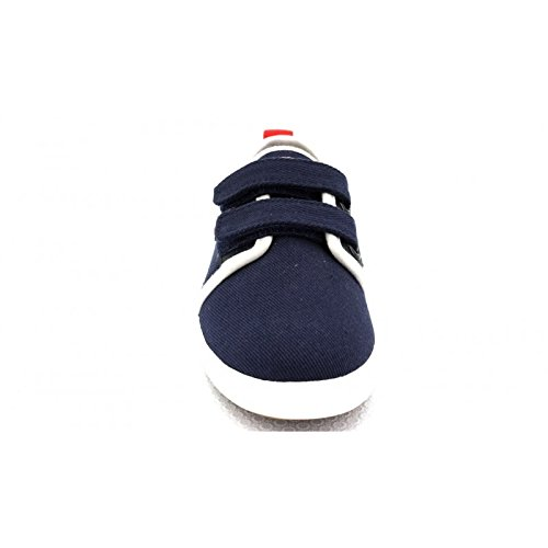 Faguo Sugi Velcro, Baskets Basses Mixte Enfant twill.