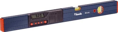 kwb digitale Wasserwaage 60 cm 064660 ((beleuchtetes Display, 2 analoge Libellen, inklusive 9 V Blockbatterie)