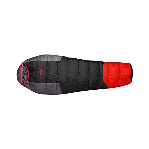 High Colorado Schlafsack Sherpa Rechts - Black-Red-Grey (Schlafsack Sherpa)