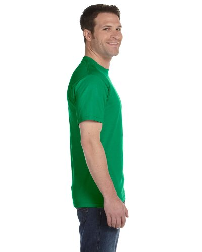 Hanes Beefy-T Adult Short-Sleeve T-Shirt 5180 Kelly Green