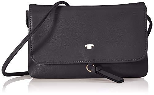 TOM TAILOR Umhängetasche Damen Luna Fall, (Schwarz), 20x12.5x2 cm, TOM TAILOR Handtaschen, Taschen für Damen
