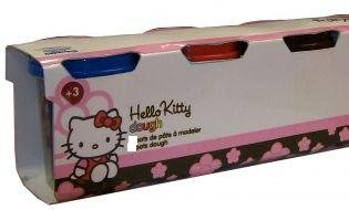Hello Kitty Play Dough - 3 Different Coloured Tubs