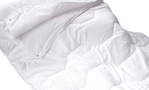 Moon-Professional 4 Jahreszeiten Bettdecke für Allergiker, Steppdecke 135x200
