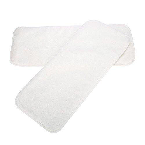 Adult Pocket Windel, Fleece-Stoff AdjustableNappy Pant Verhindern Sie Seitenauslauf Waschbar Wiederverwendbare Windelhosen für Inkontinenz-Pflege (2Pcs Windel Einlage Pad) -