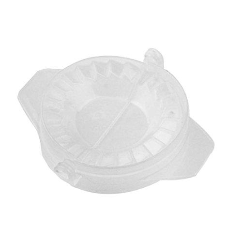 erkzeuge Knödel Jiaozi Hersteller Gerät Einfach DIY Knödel Schimmel Knödel Maker Manuelle Knödelform Teigpresse Tortenform Ravioli form (Weiß) ()