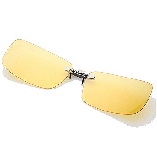Global Brands Online polarisierte Sonnenbrille, zum Aufstecken, für Kunststoffrahmen