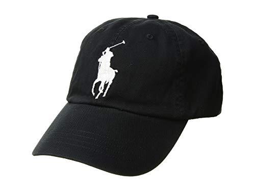 3441642d59 Polo Ralph Lauren Men's Big Pony Chino Sports Hat, Polo Black