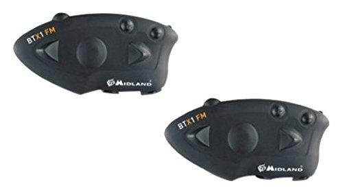 Midland C1142.01 BT X1 FM Twin Interfono