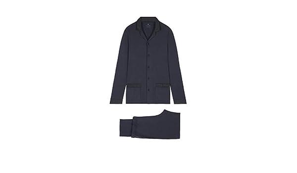 67b4f2e0ee6e91 Intimissimi - Maglia pigiama - Uomo Bleu - 800 Small: Amazon.it:  Abbigliamento
