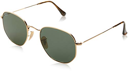 Ray-Ban Unisex - Adulto Rb 3548N Occhiali da sole, Oro (Gold), 48