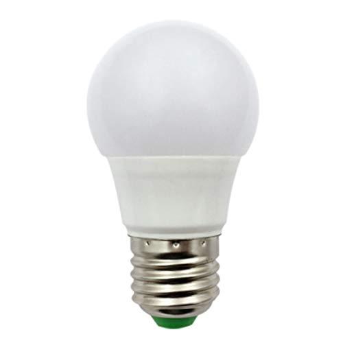 E27 Led Glühbirne 12V-24V 3W (A50 30W Halogen Birnen) Niederspannung Edison Screw in Glühbirnen für Off Grid Solar Beleuchtung RV Boot Innenbeleuchtung Kaltweiss 6000K 1-Pack (Rv-led-beleuchtung-befestigungen)