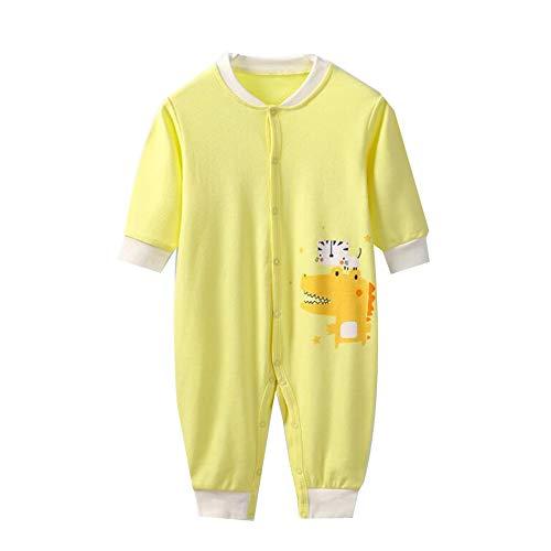 YUMEIGE schlafstrampler Baby-Pyjamas, Frühling und Herbst, mit langen Ärmeln, Babybekleidung für Mädchen, Kleinkind-Pyjamas, Baumwolle, 3 Monate-3 Jahre alt Gebrauch, Nachtwäsche for Baby, Baby-Kleidu -