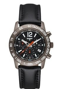 Traser Traser H3 Classic Chronograph Titan Blue T4006.773.07.01