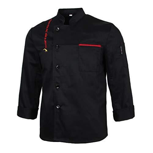 b4b99421d7b F Fityle Chaqueta de Chef Camareras Camareros Manga Larga de Hotel Cinco  Estrellas Diseño Único -