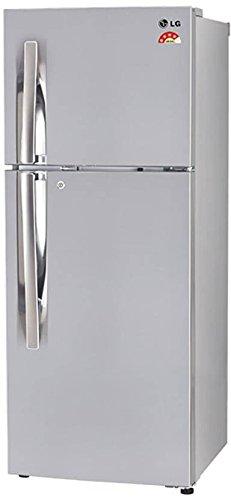 LG 260 L 4 Star Frost-Free Double Door Refrigerator (GL-T292RPZX, Shiny Steel)