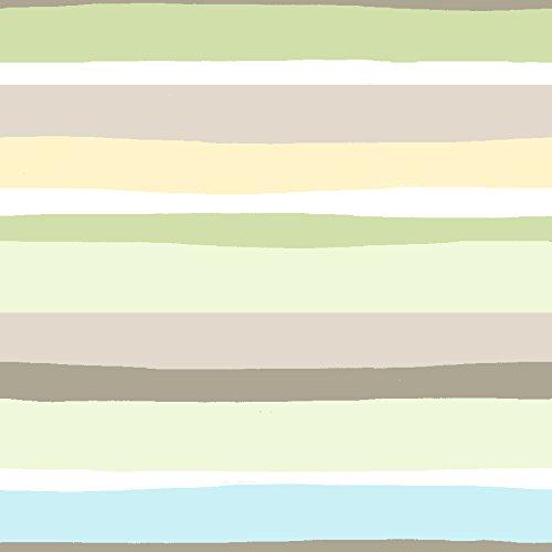 Summer Infant 72088 SwaddleMe Ganzkörper Pucksack Wellenstreifen - 100 Prozent Baumwolle, grün