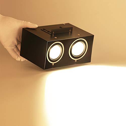 Superficie LED Downlight, 14W Cabeza Del Doble De La Parrilla Del Proyector...