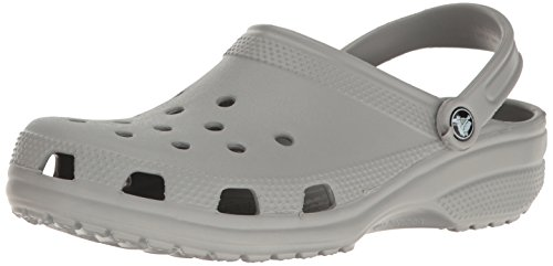 Crocs Unisex-Erwachsene Classic Clogs, Grau (Light Grey), 45/46 EU