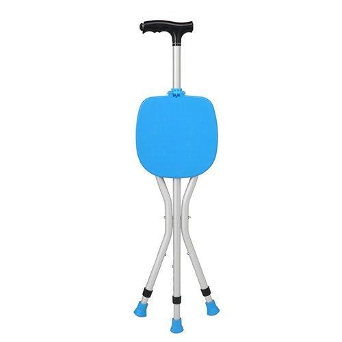 Klappung Aluminum Alloy Cane Seat 3 Beine Cane Seats Hochwertigen Walking Stick Tall Unisex Für Ältere