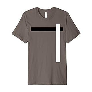 T-Shirt With Stripe Across Zvandore