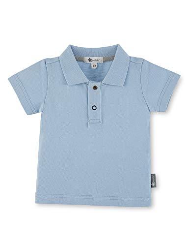 Sterntaler Polo-Shirt für Jungen, Alter: 12-18 Monate, Größe: 86, Hellblau Baby-polo
