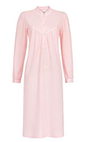 Ringella Damen Nachthemd mit Stehkragen rosa 42 9511024, rosa, 42