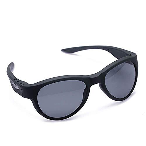 Fbestglass Bluetooth Brille mit Drahtloser Stereo Musik Kopfhörer Wireless Headset Polarisierte Sonnenbrille Sports Outdoor für IOS/Android,Unabhängige Klangkammer, Lautsprecher