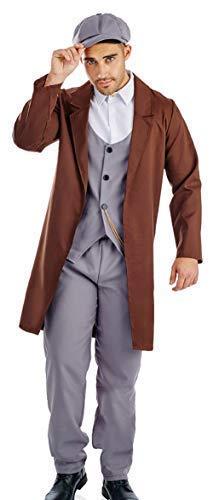 Kostüm Halloween London - Herren Schirmmütze 1920s Jahre London Gangster