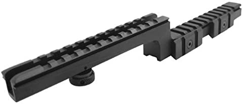 WorldShopping4U AR15 Z Type Shape Bi-Level Step Down Carry Handle Mount Picatinny Weaver 20mm Rail For Rifle Scope