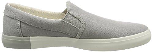 Timberland Newport Bay Plainflint Grey Canvas, Sneakers Basses Homme Gris (Flint Grey Canvas)