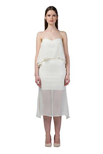 IMAIMA FAARIYA Stretchable Mermaid Marshmallow Rock Baumwolle und Lycra High-Rise Taille Doppelschicht Röcke Mädchen Close-Cut Bodycon Kleidung Lässig Sommer Frauen tragen Damenmode (klein) (High-cut Baumwolle Lycra)