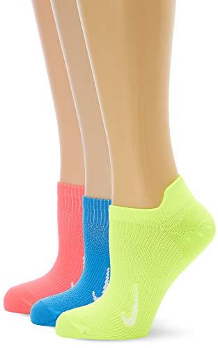 Nike Damen Performance Everyday Plus Lightweight No-Show Socken, Multi-Color, S