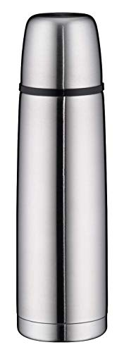 alfi isoTherm Perfect Isolierflasche, Edelstahl mattiert, 0,5 Liter