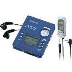 Aiwa AM-F65 tragbarer MiniDisc-Player und Rekorder