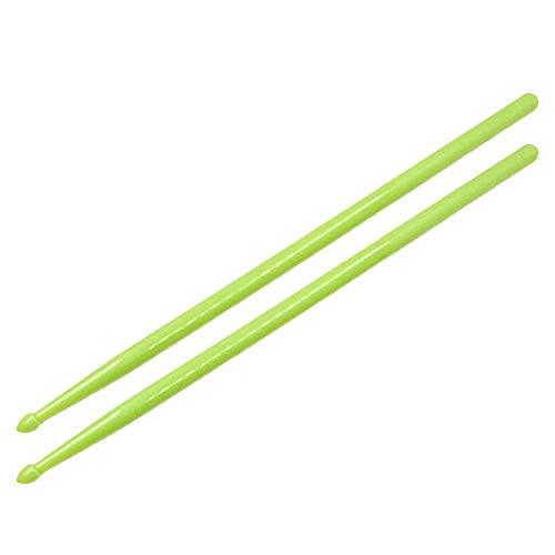 TARTIERY Nylon Drumsticks für Schlagzeug Leichtes, Starkes, professionelles Night Jazz Drum Sticks Mallets-Training Ergänzt Jede Übungsroutine oder jeden Kurs mit Spaß