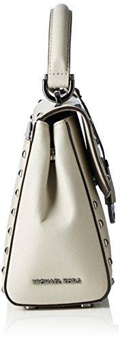 Michael Kors Ava, Sacs portés main Gris (Cement 092)