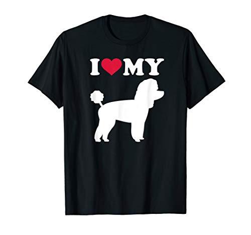 Ich liebe meinen Toy Pudel T-Shirt -