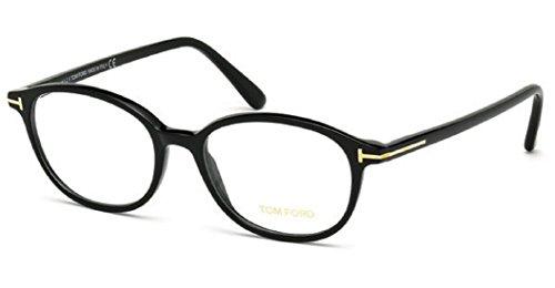 Tom Ford Für Frau 5391 Shiny Black Kunststoffgestell Brillen, 52mm