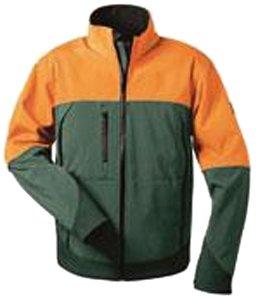 forstjacken elyse Feldtmann 22756/XXL Softshell Jacke Sanddorn Größe XXL grün/orange