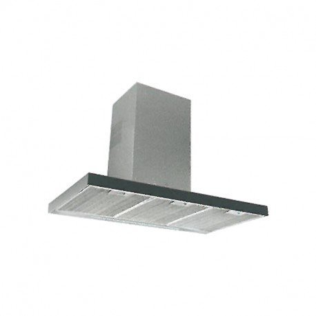 Teka DLH 986 T 701 m³/h De pared Negro, Acero inoxidable A+...