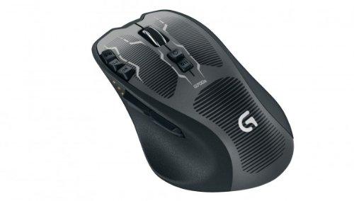 Logitech G700s RF Wireless Laser 8200DPI Schwarz Maus - Mäuse (Laser, RF Wireless, 8200 DPI, Schwarz)