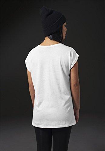 Urban Classics Damen T-Shirt Parental Advisory White
