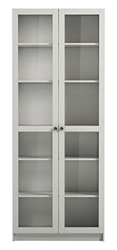 Steens Group Anette 754/50 Glastüren Set, 193 x 80 x 2 cm, MDF weiß