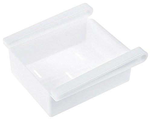 Hosaire Caja de Alimentos Refrigerador Cocina Casera Rizador Estante de Almacenamiento Contenedores - Verde